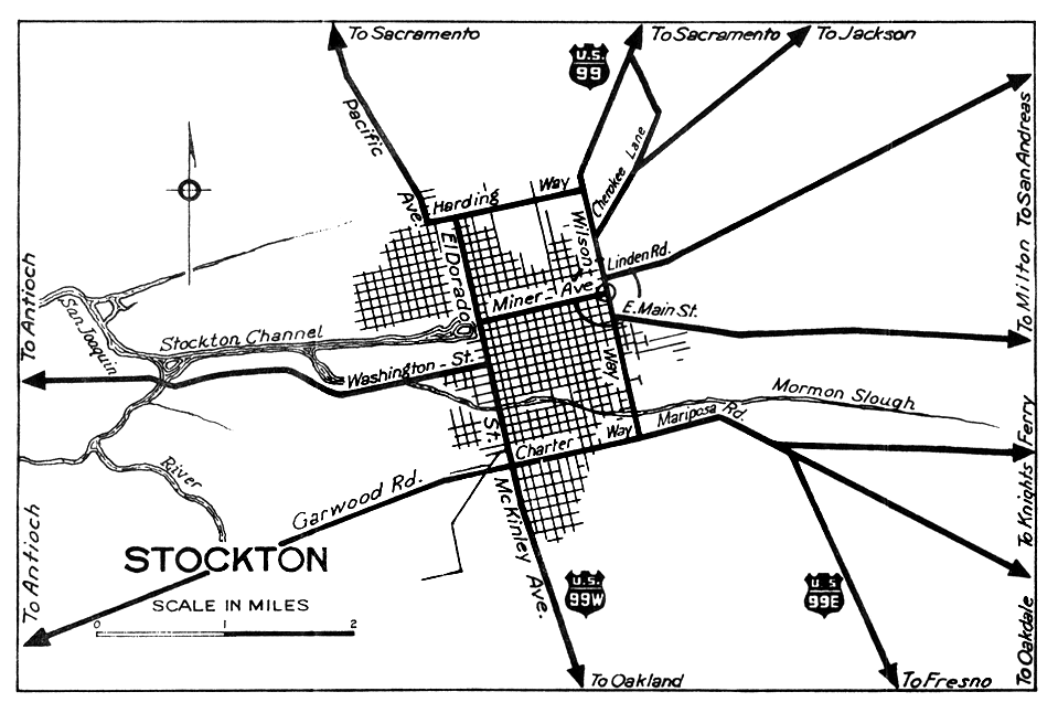 Image Result For Manteca Map