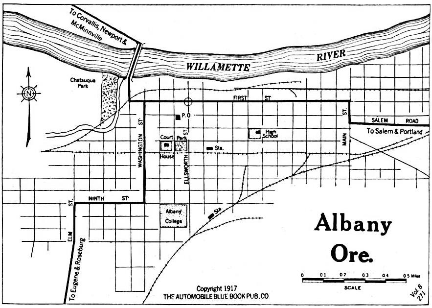 Oregon City Maps At AmericanRoadscom - Oregon city map