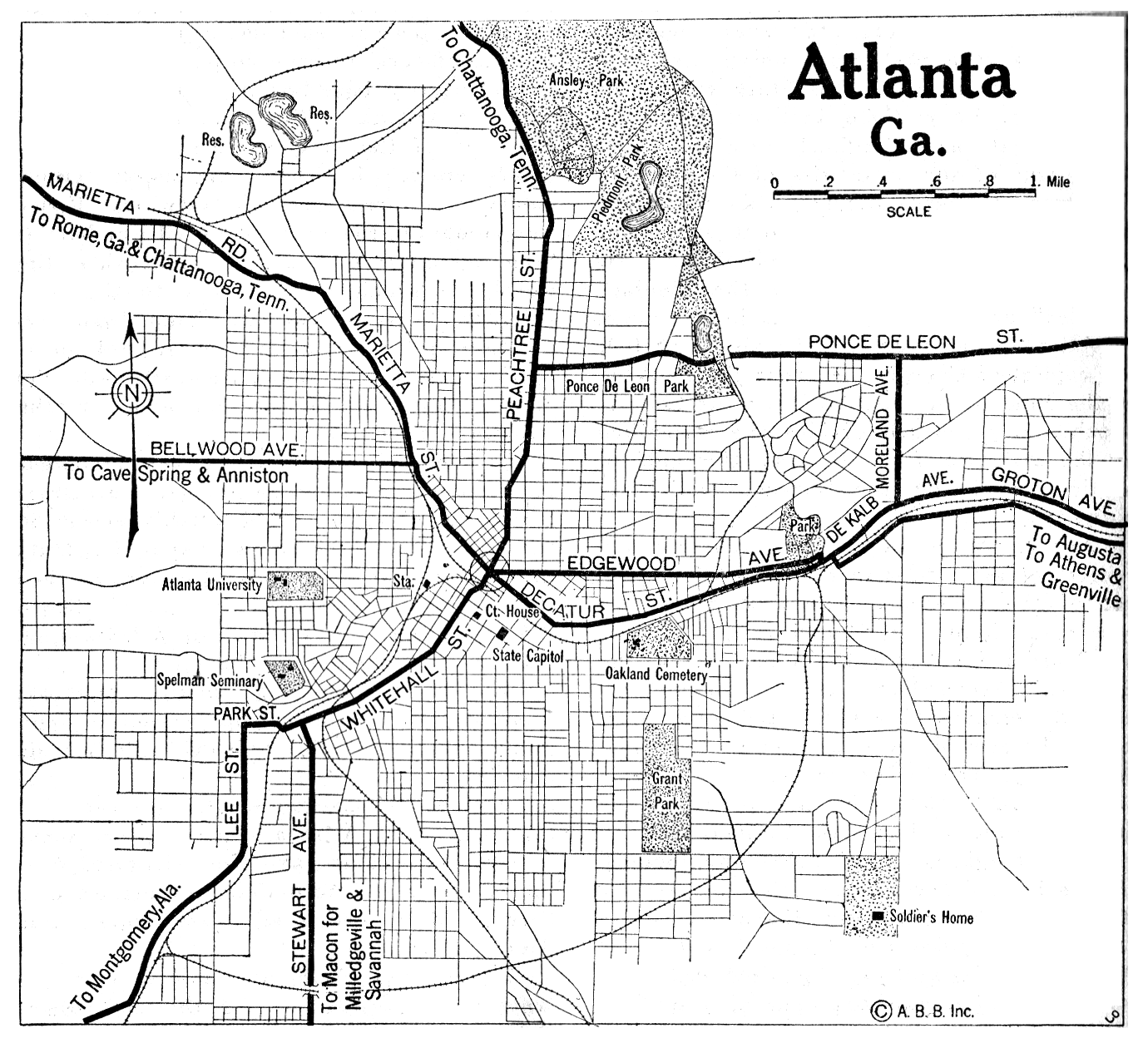 Georgia City Maps At AmericanRoadscom - Georgia city map