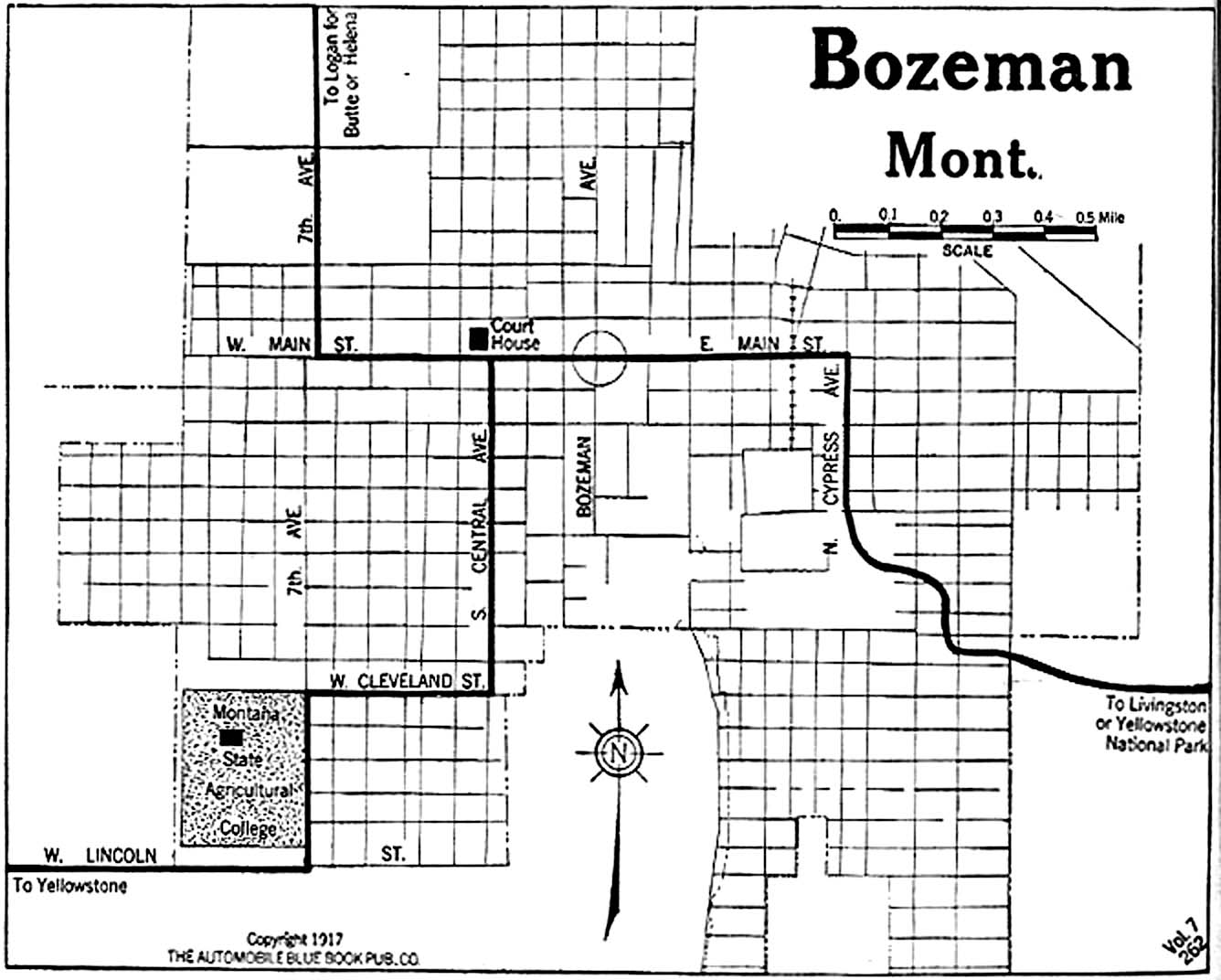 Montana City Maps At AmericanRoadscom - Montana cities map