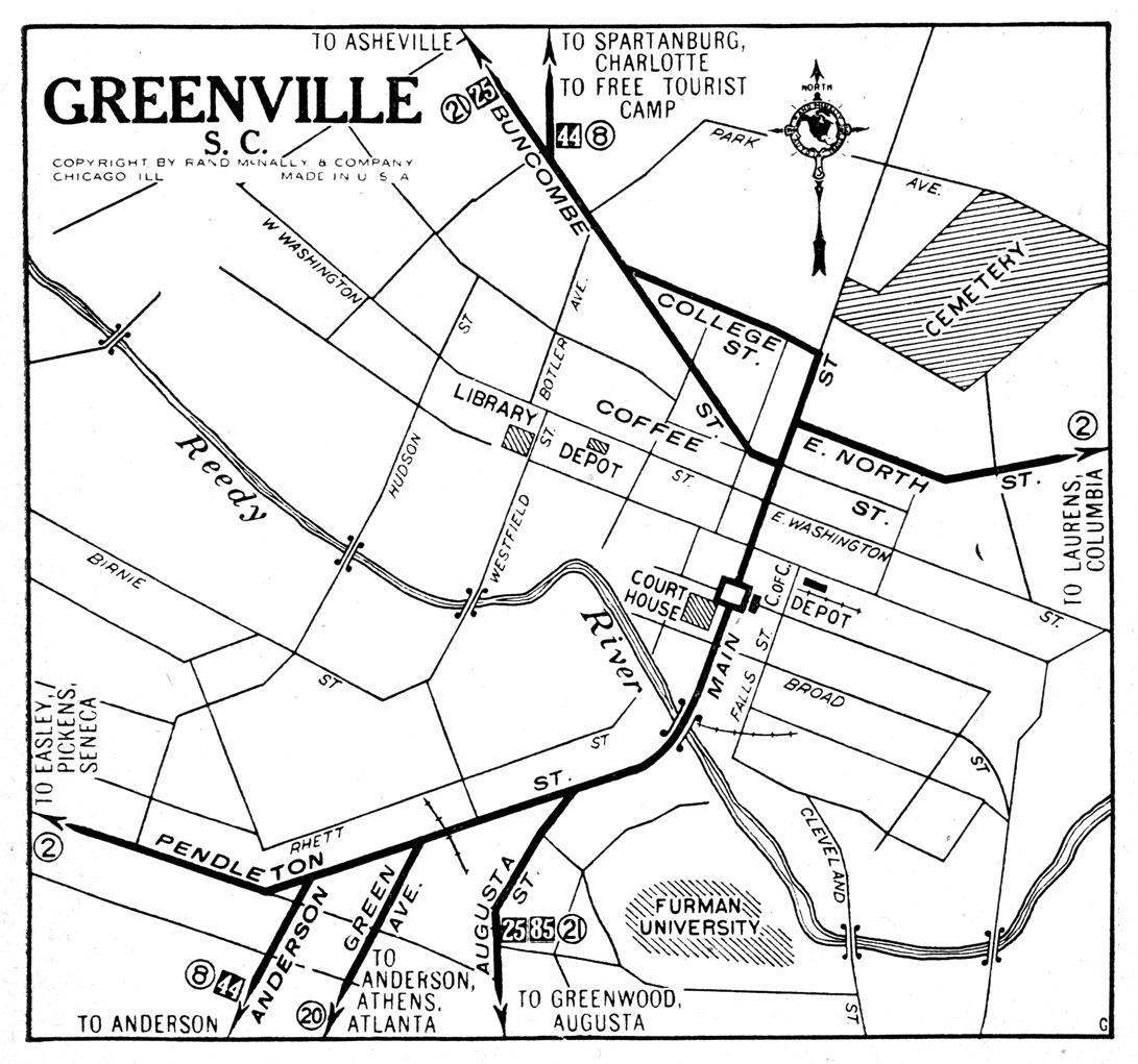 South Carolina City Maps At AmericanRoadscom - South carolina cities map