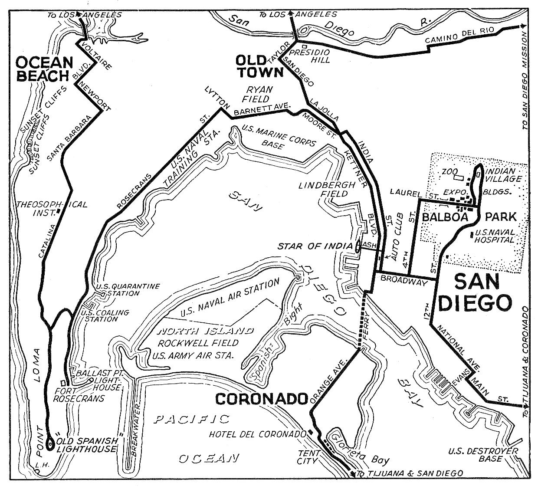 california city maps at americanroads com