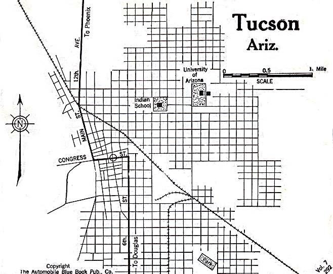 Arizona City Maps At AmericanRoadscom - Arizona city maps