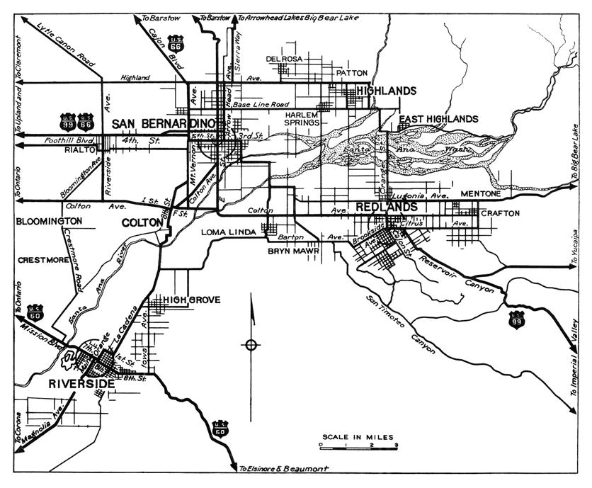 Colton Riverside to San Bernadino