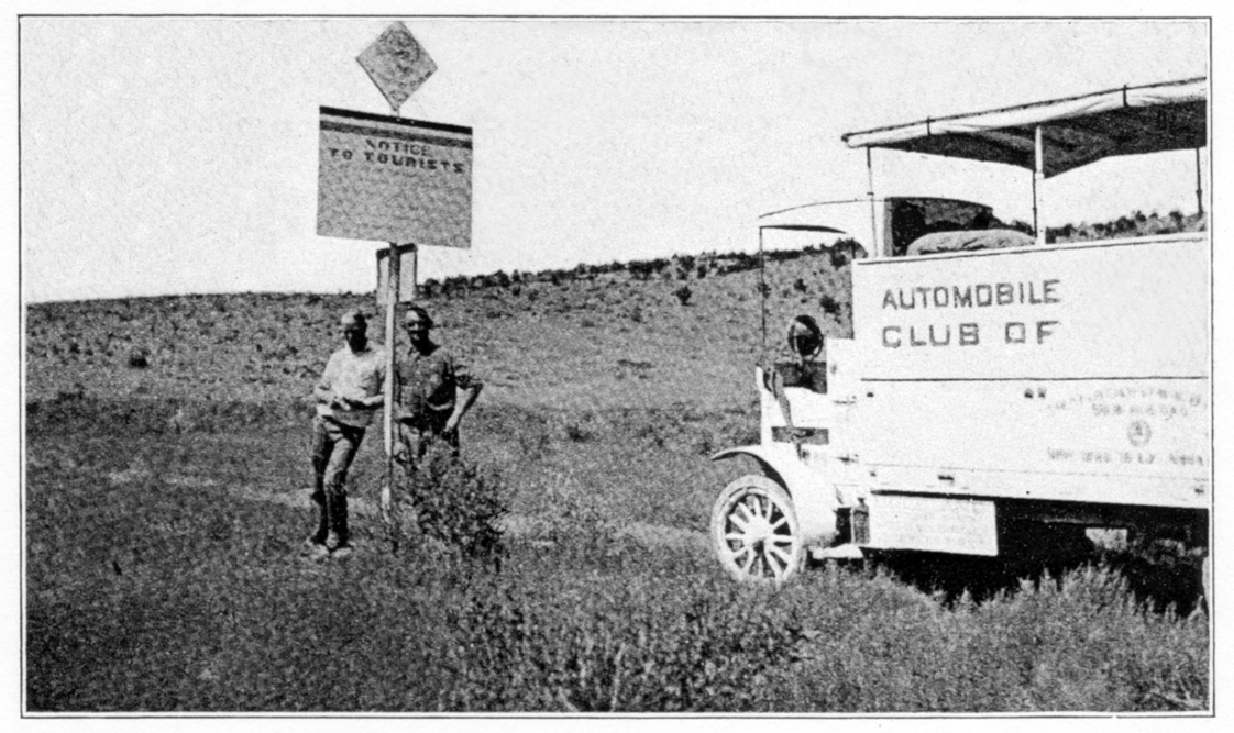 Automobile Club signs in New Mexico
