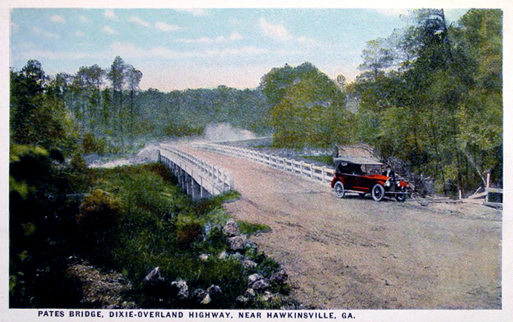 Pates Bridge on Dixie Overland Highway