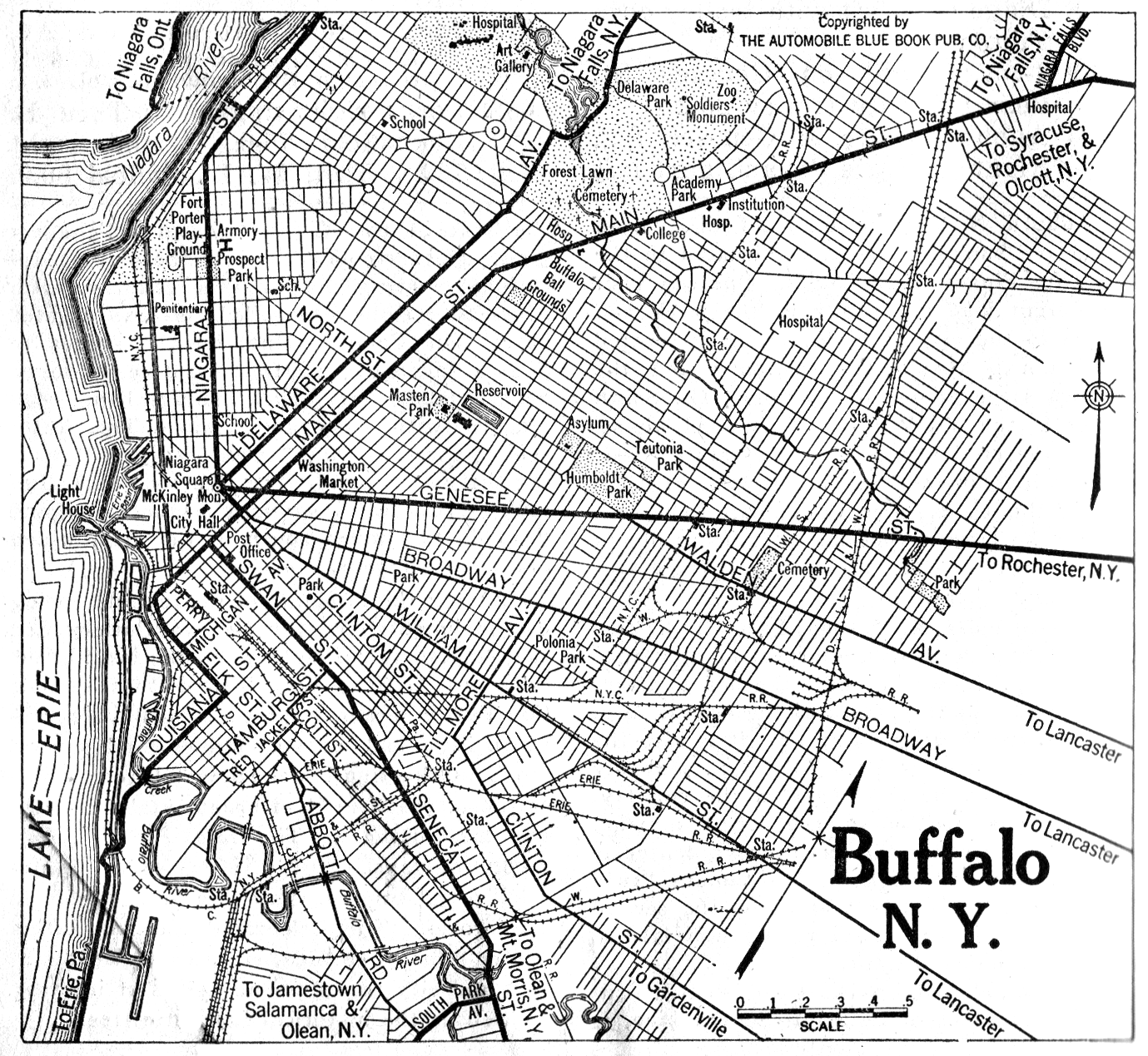 back to city maps new york